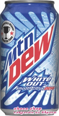 Mtn Dew white out