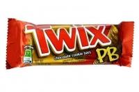 Шоколадный батончик Twix Peanut butter