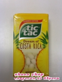 Tic Tac dream of Costa Rica