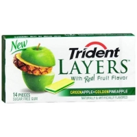 TRIDEN laers Apple +Pineapple