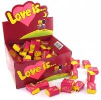 Love is жевательная резинка вишня-лимон