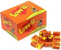 Love is жевательная резинка ананас-апельсин