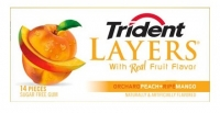 Trident Layers Peach + Mango